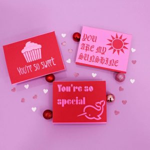 Laser-Cut Valentine's Day Cards