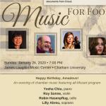 Music for Food: Happy Birthday Amadeus!