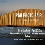 PGH Photo Fair Speaker Series, Esa Epstein