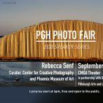 PGH Photo Fair Speaker Series. Rebecca Senf