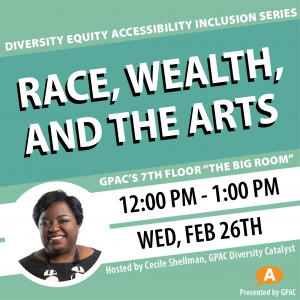 DEAI Lunch & Learn: Race, Wealth, and the Arts...