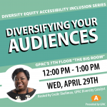 DEAI Lunch & Learn: Diversifying Your Audiences