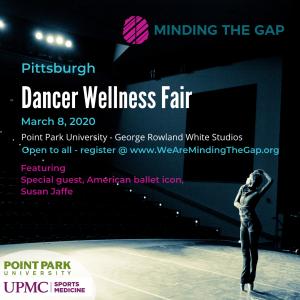 Minding the Gap Dancer Wellness Fair