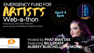Emergency Fund for Artists Web-A-Thon