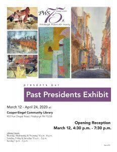 75th Anniversary Past Presidents Exhibit