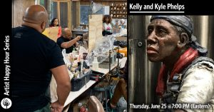 Artist Happy Hour Series: Kelly and Kyle Phelps