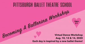 Becoming A Ballerina Virtual Dance Workshop with P...