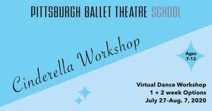 Cinderella Virtual Dance Workshop with PBT School
