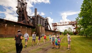 Industrial Tour of the Carrie Blast Furnaces