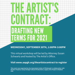 The Artists Contract: Drafting New Terms for 2021
