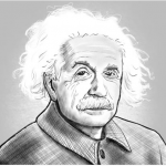 Einstein, A Stage Portrait