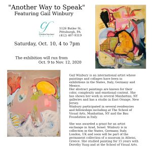 Opening Reception featuring Gail Winbury