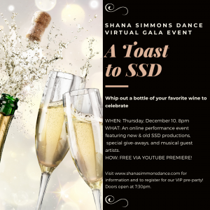 A Toast To SSD: a virtual gala performance event