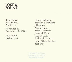 Lost & Found Exhibition