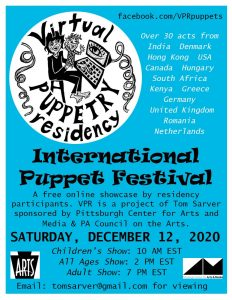 Virtual Puppetry Residency - International Puppet Festival