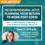 The Entrepreneurial Artist Two-Part Series: Planning to Return to Work Post-COVID