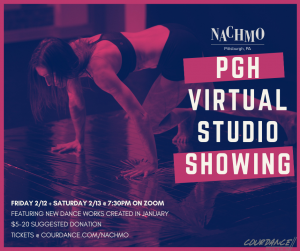 NACHMO PGH Virtual Studio Showing