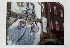 The Heart Lives Through the Hands by Swoon