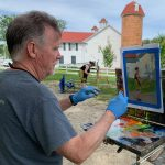 Plein Air Painting along the Historic National Road