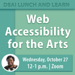 Web Accessibility for the Arts
