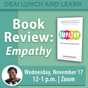 """Book Review: """"Empathy"""""""
