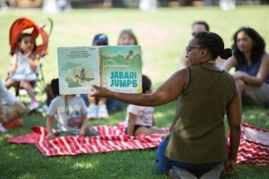 Storytime in Allegheny Commons Park - August 12