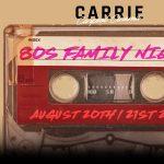 Carrie Carpool Cinema—80s Family Weekend