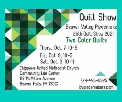 Beaver Valley Piecemakers Quilt Show