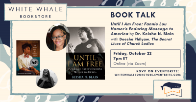 "Virtual Book Talk: ""Until I Am Free"" by Dr. Keisha..."