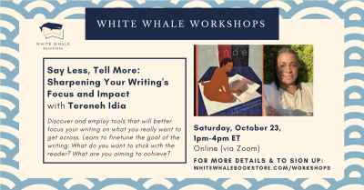 """Nonfiction Writing Workshop: """"Say Less, Tell More""""..."""